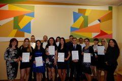 Odovzdanie certifikátov žiakom