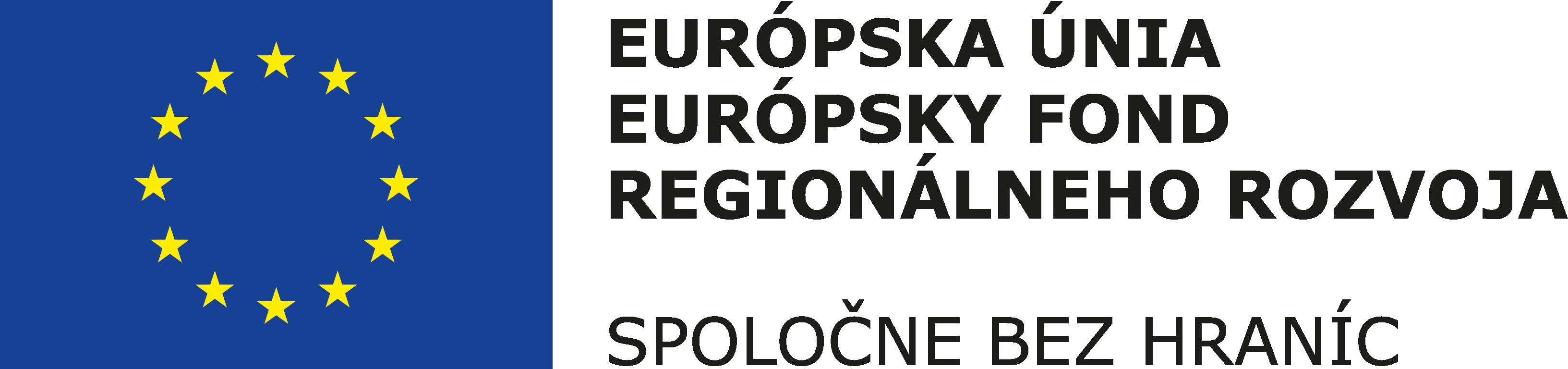 Európska únia - Európsky fond regionálneho rozvoja - Spoločne bez hraníc