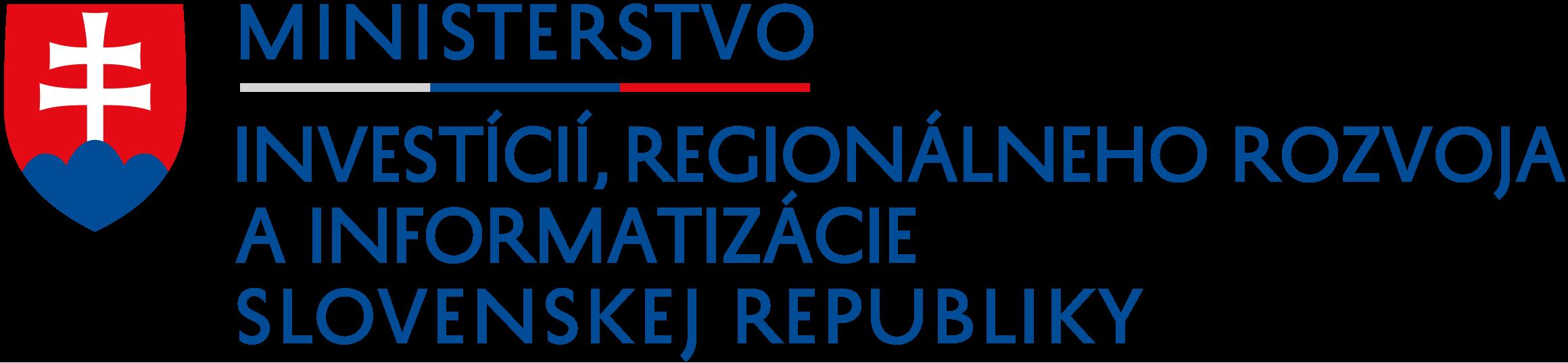 Ministerstvo investícií, regionálneho rozvoja ainformatizácie SR